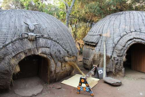 African Cultural Village in Johannesburg, South Africa free photo