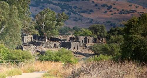 Ancient Ruins at Golan Heights, Israel free photo