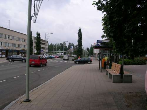 Another street view in Keuruu, Finland free photo