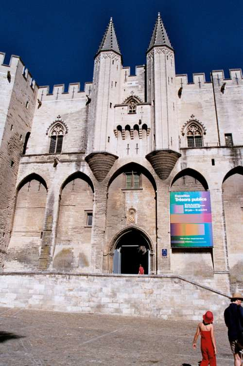 Avignon Palais Des Papes, France free photo