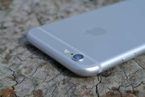 Back of Apple I-phone free photo