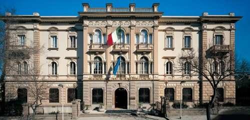 Banco di Sardegna's headquarters in Sassari, Italy free photo