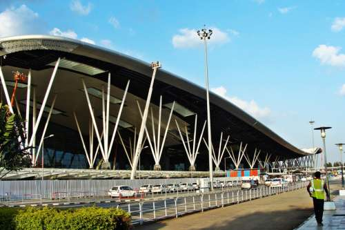 Bangalore airport in India free photo