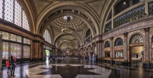 Barcelona Train Station in Spain free photo