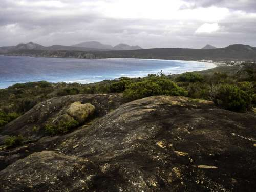 Bay and landscape at Cape Le Grand National Park, Western Australia free photo