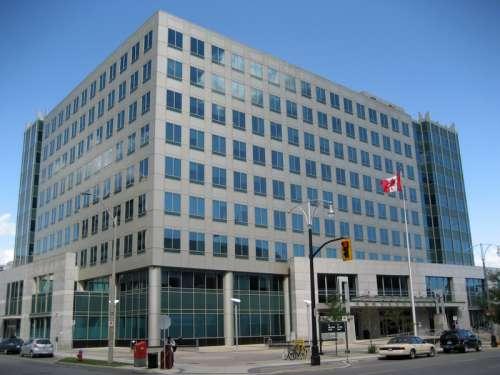 Bay Street Federal Building in Hamilton, Ontario, Canada free photo