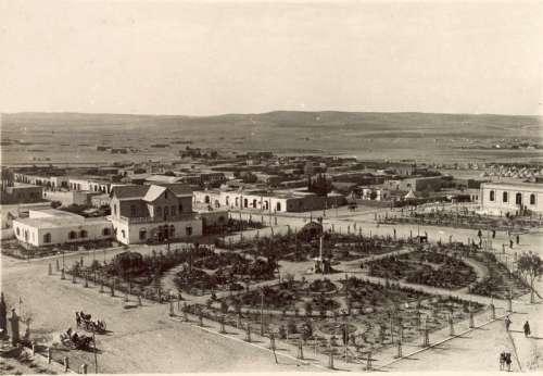 Beersheba Cityscape in 1917 in Israel free photo