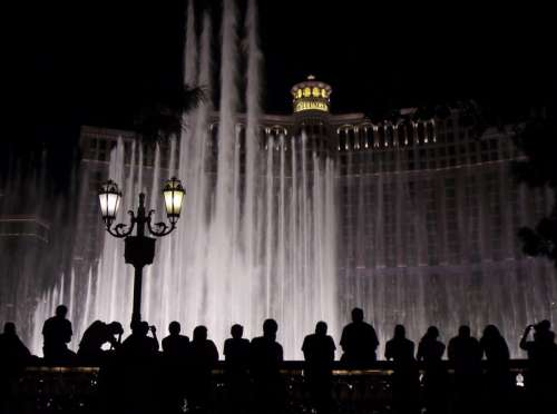 Bellagio Hotel, Casino, and water Fountains in Las Vegas, Nevada free photo