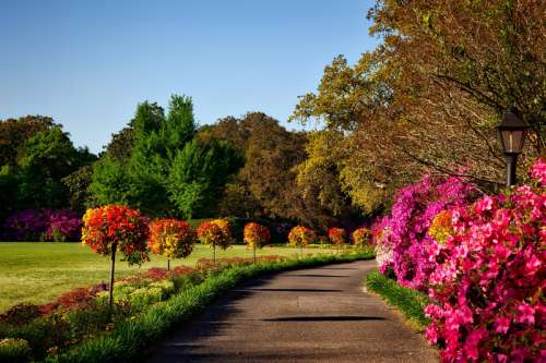 Bellingrath Gardens landscape in Alabama free photo