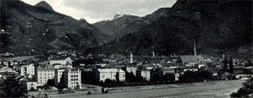 Bolzano in 1898 in Italy free photo