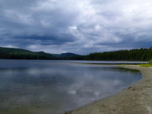 Bosk Lake in British Columbia, Canada free photo