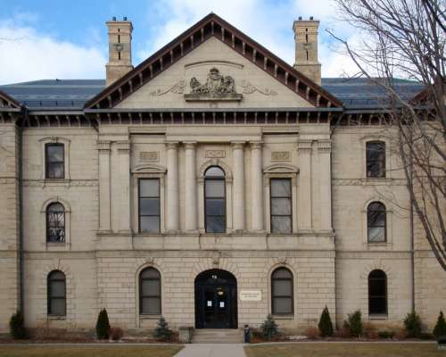 Brant County Courthouse in Brantford in Ontario, Canada free photo