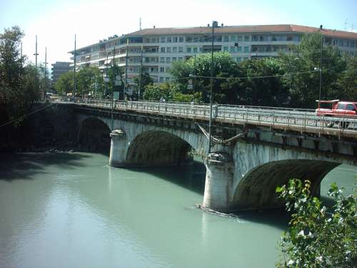 Bridge in Carouge, Switzerland free photo