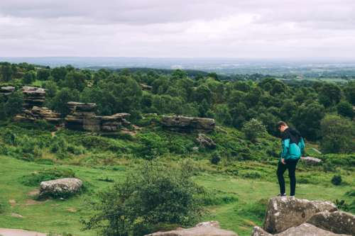 Brimham Rocks in Summerbridge, England free photo