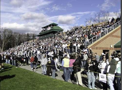 Bryant University's Bulldogs Stadium in Rhode Island free photo