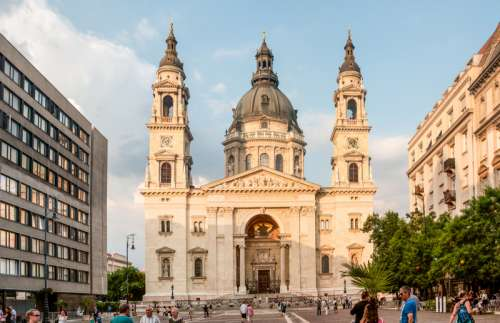 Budapest church in Hungary Architecture free photo