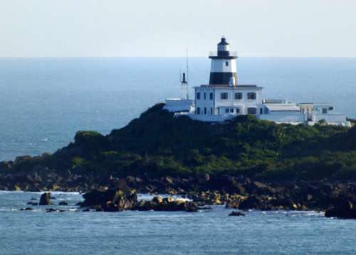 Cape Fuguie Lighthouse in Taiwan free photo