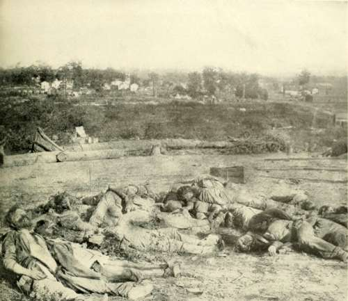 Casualties of the Battle of Corinth in Mississippi during the Civil War free photo