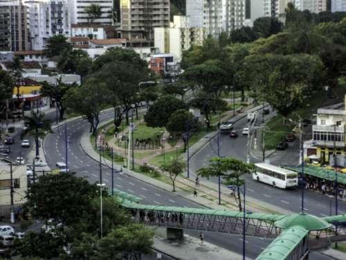 Centenário Avenue in Barra neighborhood in Salvador, Brazil free photo