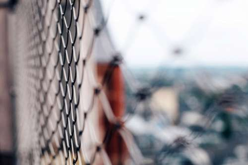 Chain link fence free photo