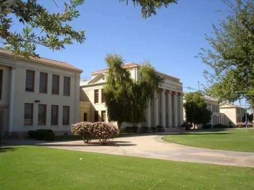 Chandler High School in Arizona free photo