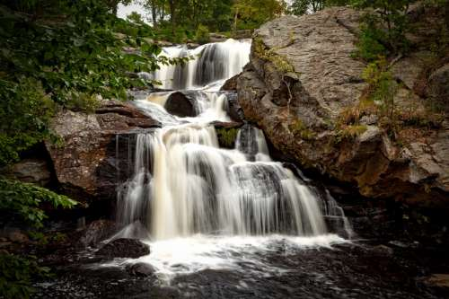 Chapman Falls in Connecticut free photo
