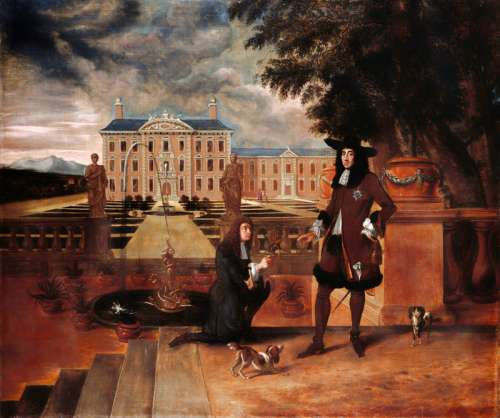 Charles II presented with first pineapple grown in England free photo