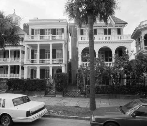 Charleston Street Vintage Photo free photo