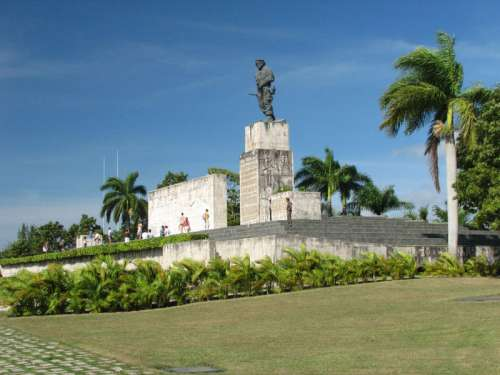 Che Guevara's Monument and museum in Santa Clara, Cuba free photo