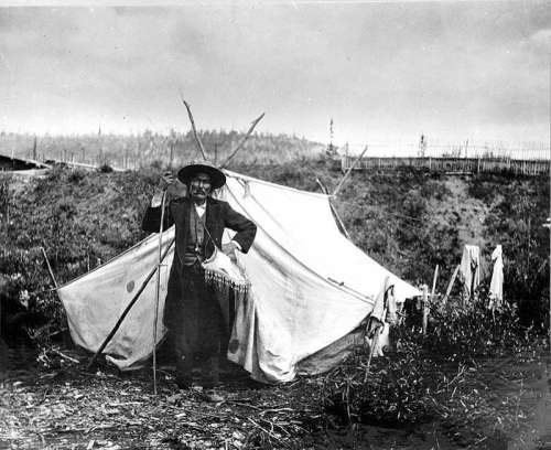 Chief Isaac of the Hän, Yukon Territory, 1898 free photo