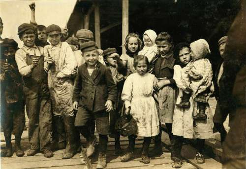 Child Workers in 1911 in Mississippi free photo