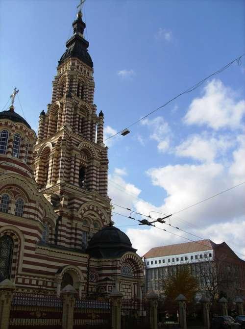 Church Cathedral in Kharkiv, Ukraine free photo