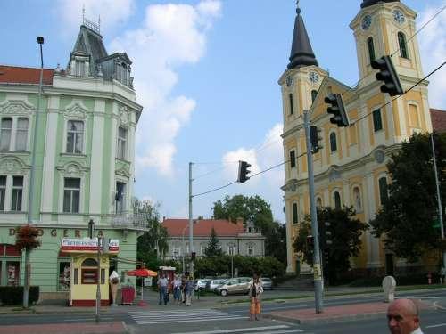 Church of Mary Magdalene in Zalaegerszeg, Hungary free photo