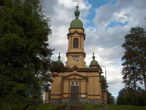 Church of Saint Prophet Elijah in Ilomantsi, Finland free photo