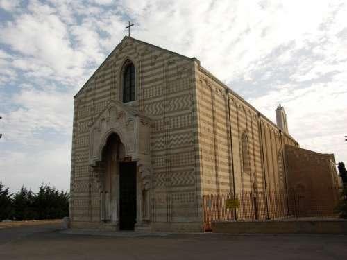 Church of Santa Maria del Casale in Brindisi, Italy free photo