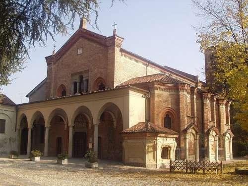 Church of Santa Maria delle Grazie in Monza, Italy free photo