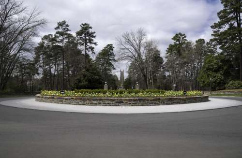 The Circle in the Garden at Duke University in Durham, North Carolina free photo