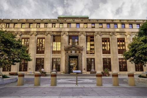 City Hall in Columbus, Ohio free photo