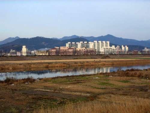 City of Miryang in South Korea free photo