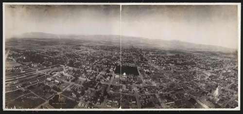 City Sprawl View of San Jose, California free photo