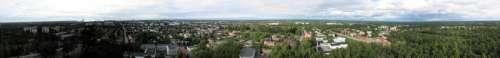 Cityscape View of Rauma, Finland free photo