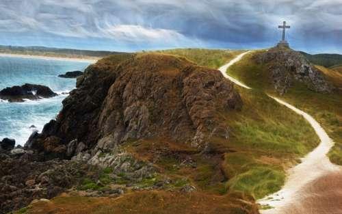 Cliffs on the Welsh Coastline free photo