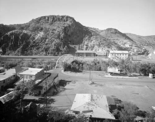 Clifton Townsite Historic District in 1993 in Arizona free photo