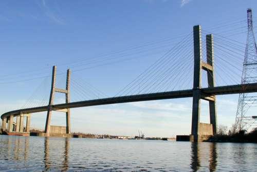 Cochrane–Africatown USA Bridge in Mobile, Alabama free photo