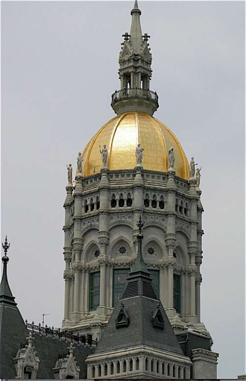 Connecticut State Capitol in Hartford, Connecticut free photo