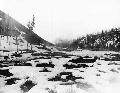Construction the railway near Whitehorse, Yukon Territory free photo