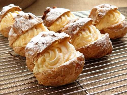 Cream Puffs Dessert free photo