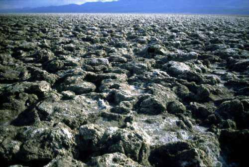 Devil's Golf Course at Death Valley National Park, Nevada free photo