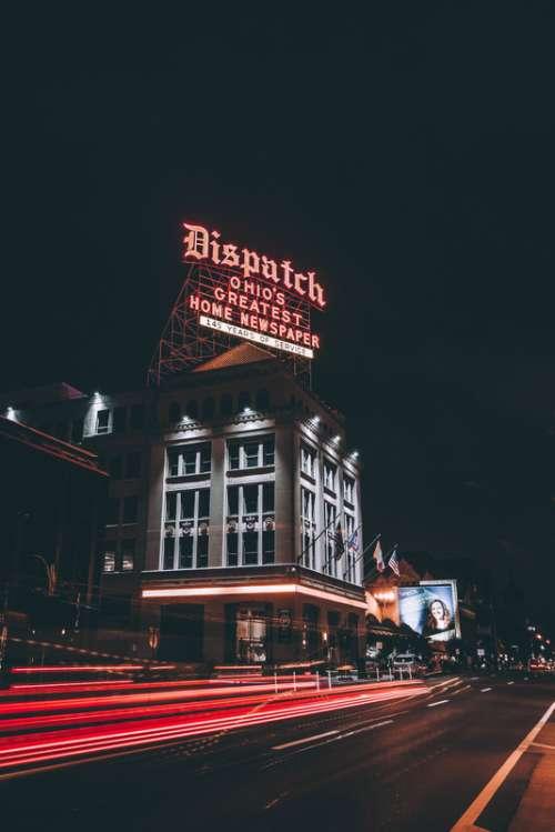 The Dispatch paper Building in Columbus, Ohio free photo