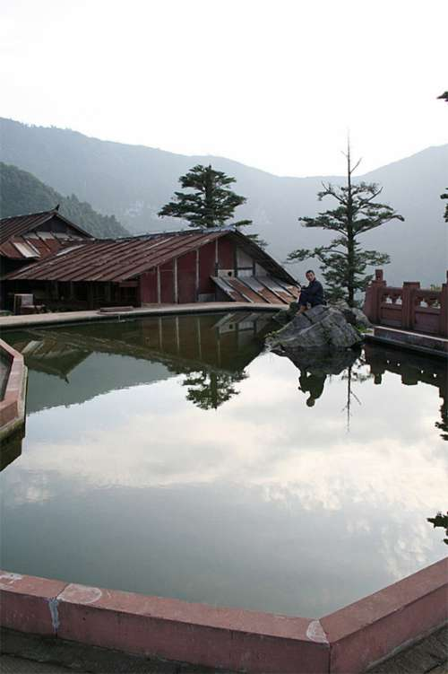 Elephant Bathing Pool in Sichuan, China free photo